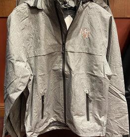 Gray Port Authority Rain Jacket