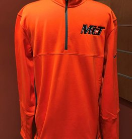Nike Half Zip- Orange w/McT Logo