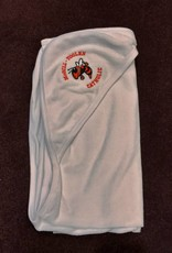 White Hooded Towel w/ Logo
