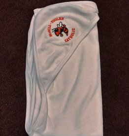 White Hooded Towel w/ Logo