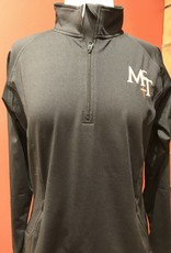 McT Ladies Half Zip Black