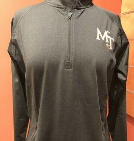 McT Ladies Half Zip Black