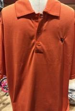 Orange Polo w/Jacket