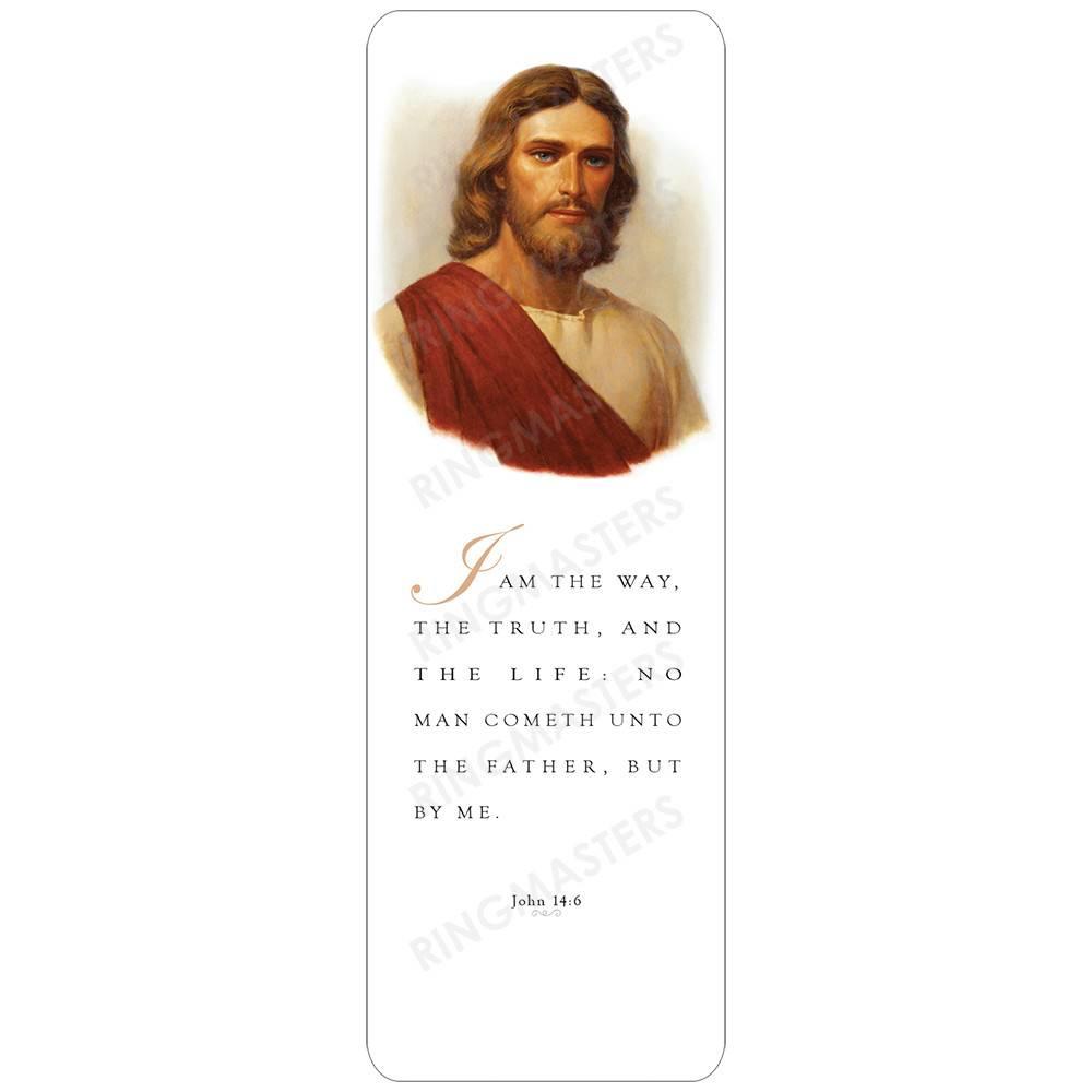 BOOKMARK CHRIST RED ROBE