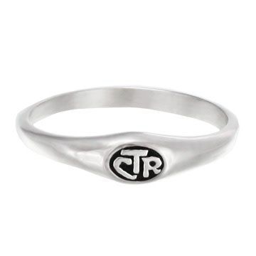 CTR RING MICRO MINI STAINLESS STEEL CTR RING