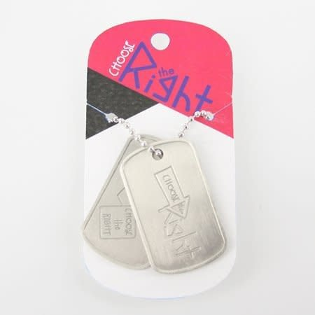 DISC CTR DOG TAGS