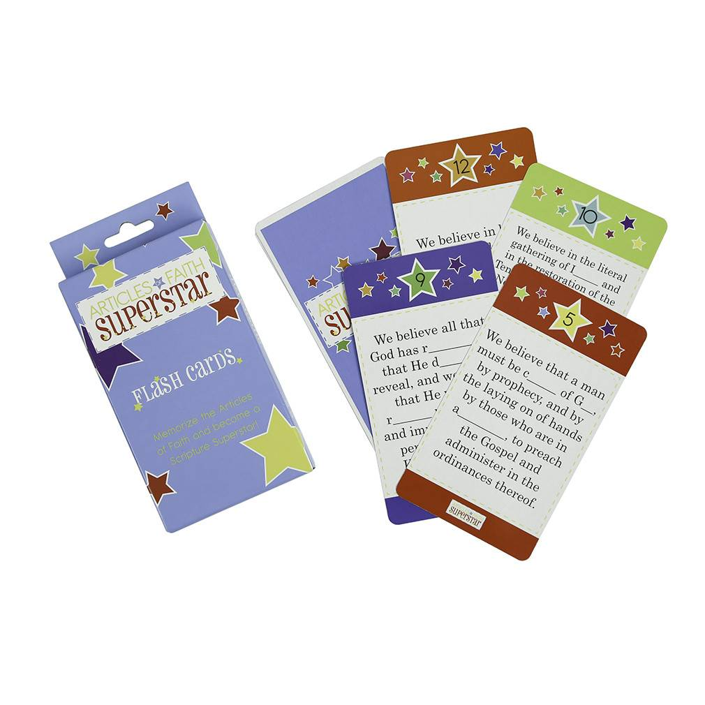 ARTICLES OF FAITH SUPERSTAR FLASH CARDS