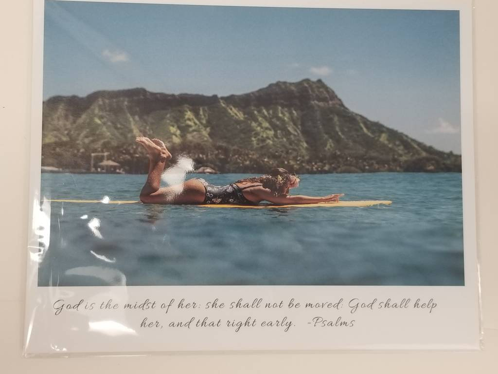 Waikiki Picture: God is in the midst of her