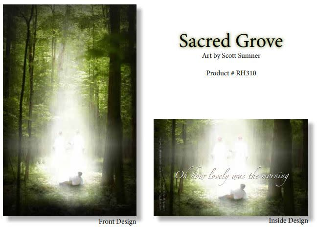Sacred Grove RECOMMEND HOLDER