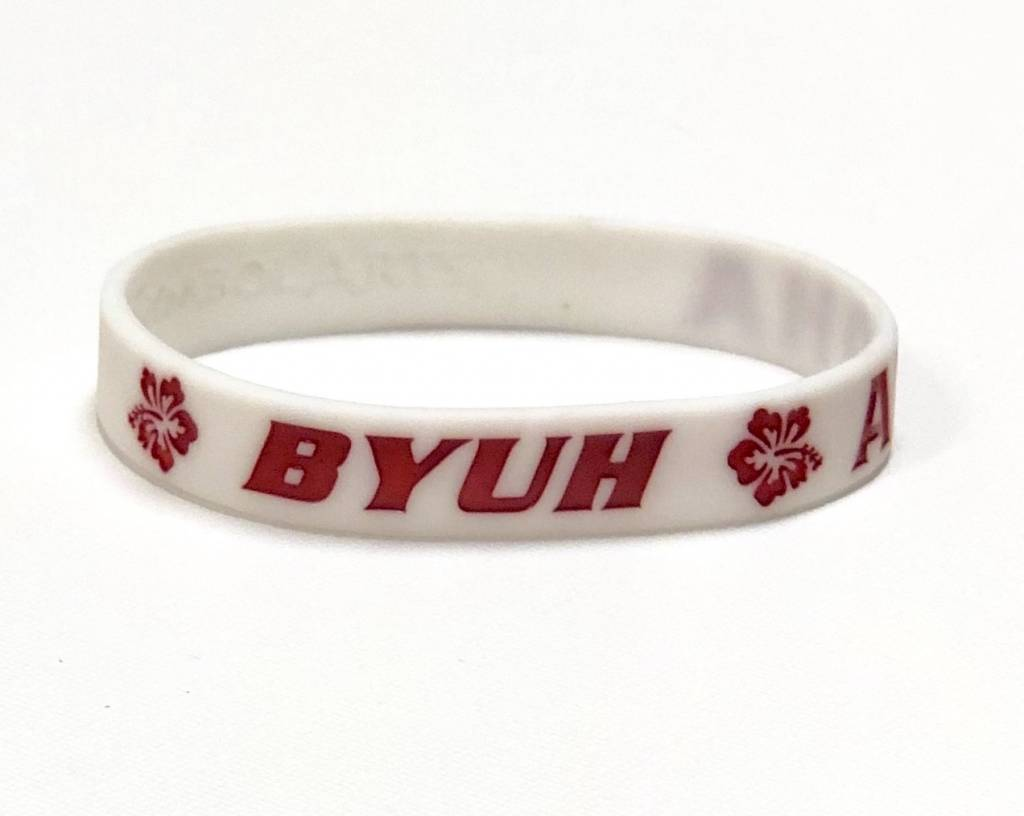 BYUH SILICONE WRIST BAND