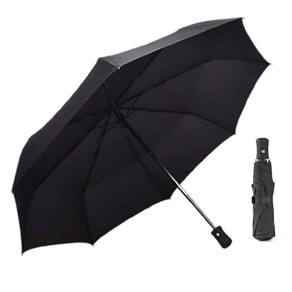 COMPACT UMBRELLA AUTO BLACK