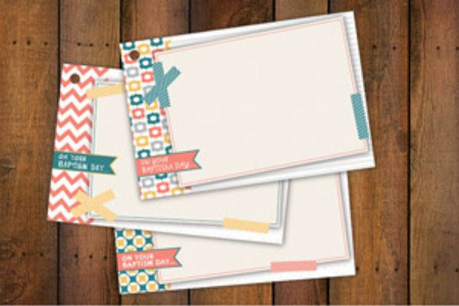 BAPTISM NOTECARDS SPECIAL DAY GIRL