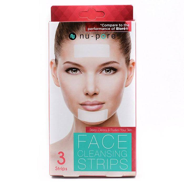 NU-PORE FACE CLEANING STRIPS