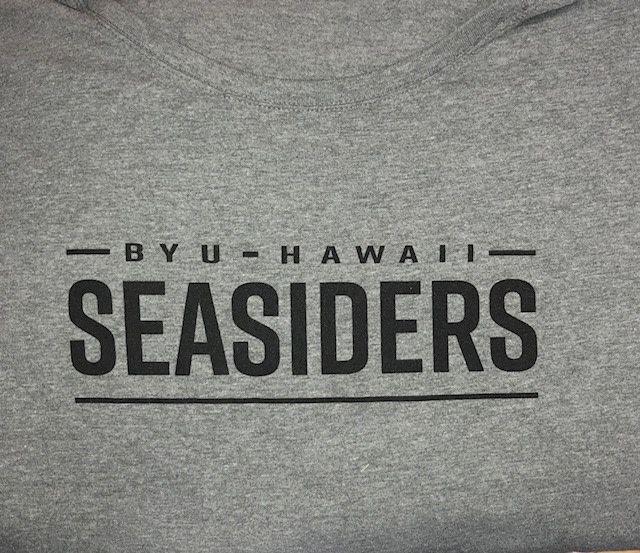 Gray BYUH SEASIDERS Ladies Cut