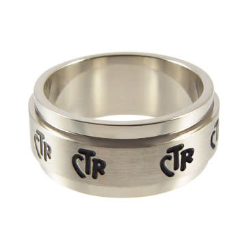 CTR RING SPINNER Stainless Steel WIDE