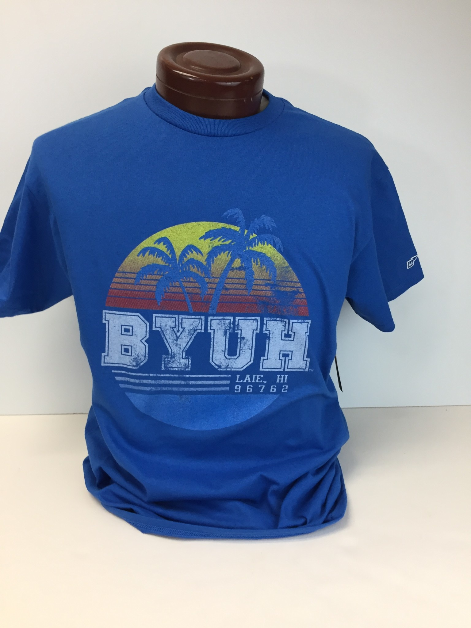 Adult BYU-H Palm Tree cotton tee