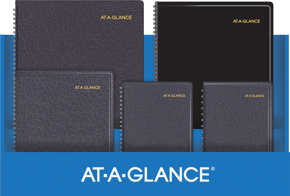 At-Glance weekly planner