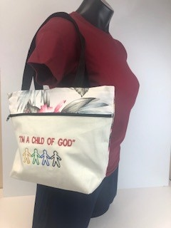 LDS Tropical Reversible Bags S - I am a Child of God