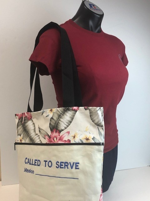 LDS Tropical Reversible Bags L - Called to Serve