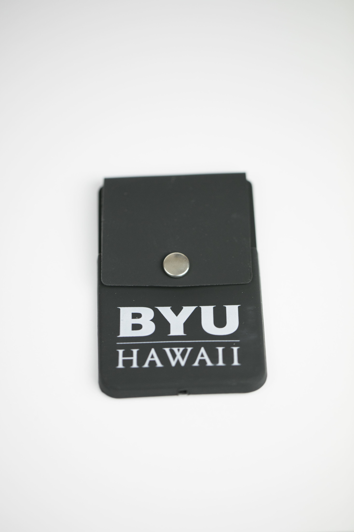 SNAP CELL PHONE CARD HOLDER BLACK BYU
