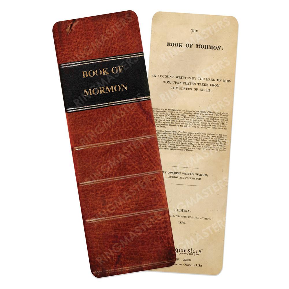 BOOKMARK, BOOK OF MORMON