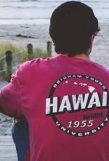 BYU-Hawaii Dyed Ringspun Pocket Tee