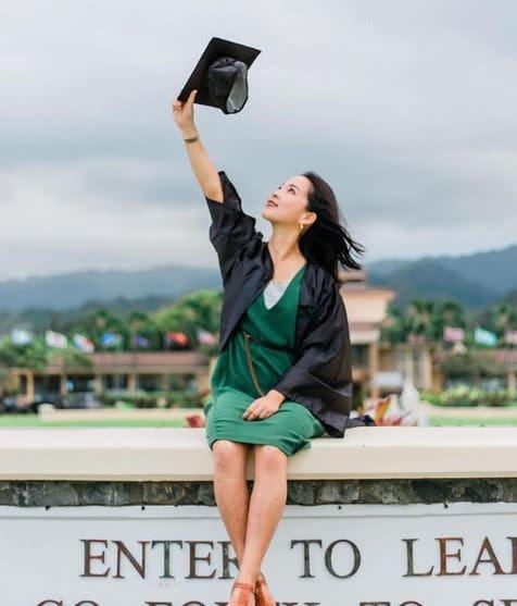 Graduation Full Set Cap/Gown/Tassel