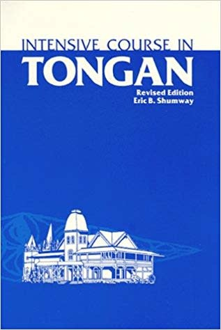 2195 INTENSIVE COURSE IN TONGAN 2E