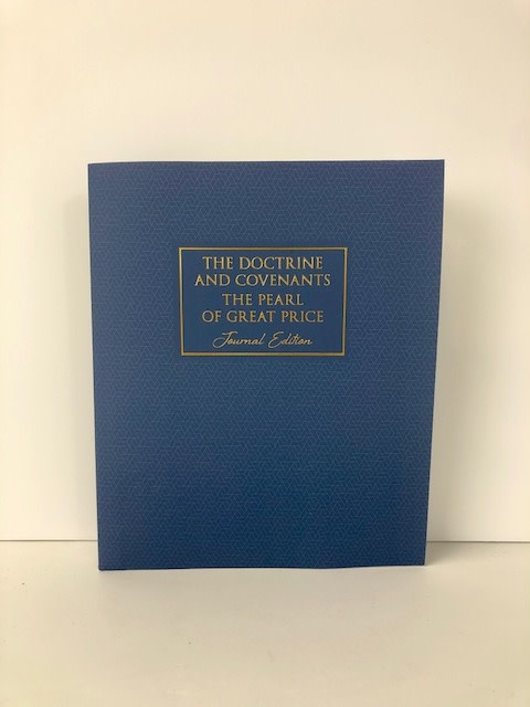 Deseret Books D&C & Pearl of Great Price Journal Edition