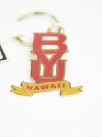 R&D BYU HAWAII METAL KEYTAG HAWAII BANNER