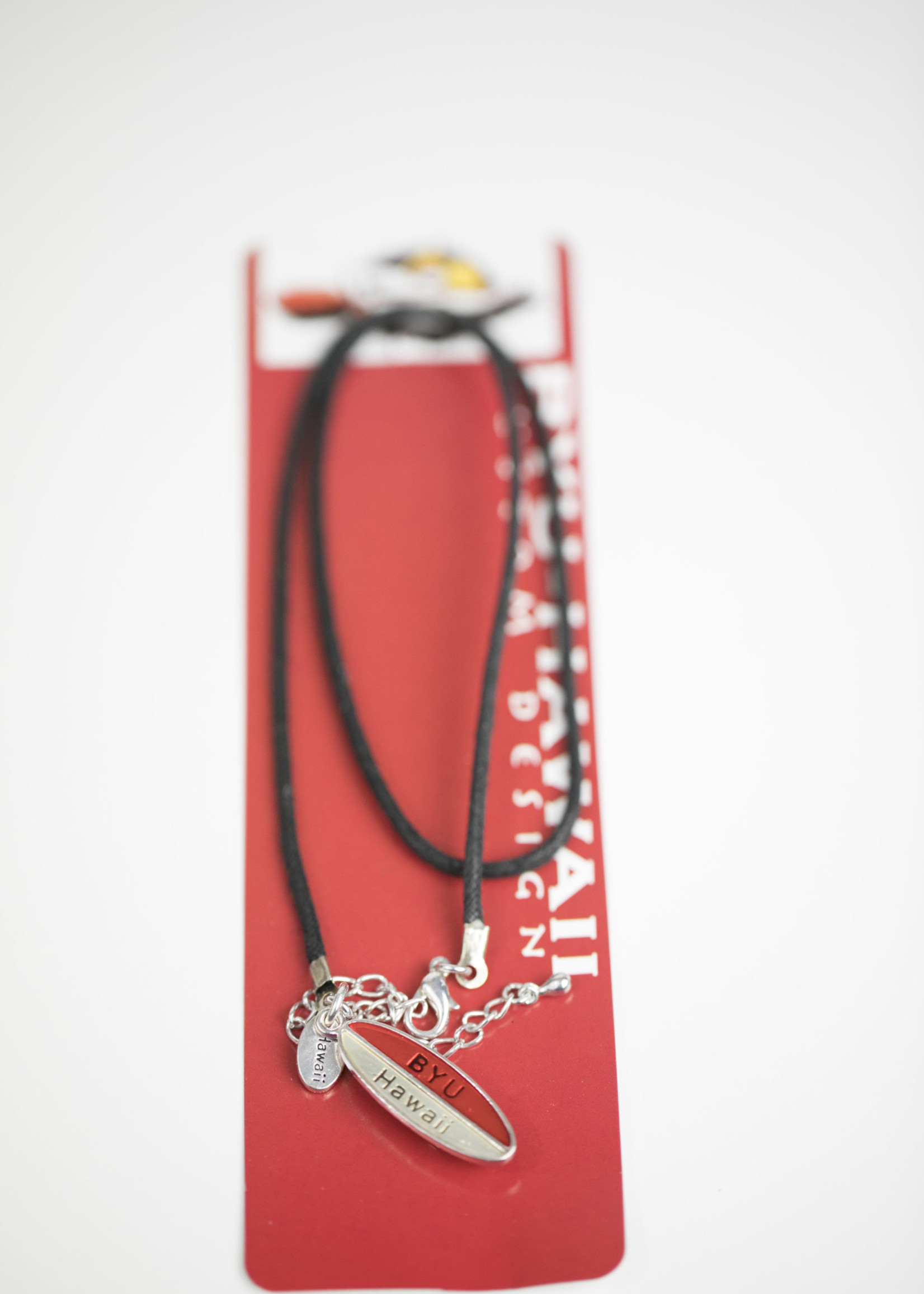 Clearance - BYUH Surfboard Necklace