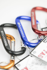 BYUH CARABINER CLIP ASSORTED