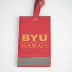 Clearance - BYU–Hawaii Luggage Tag Red