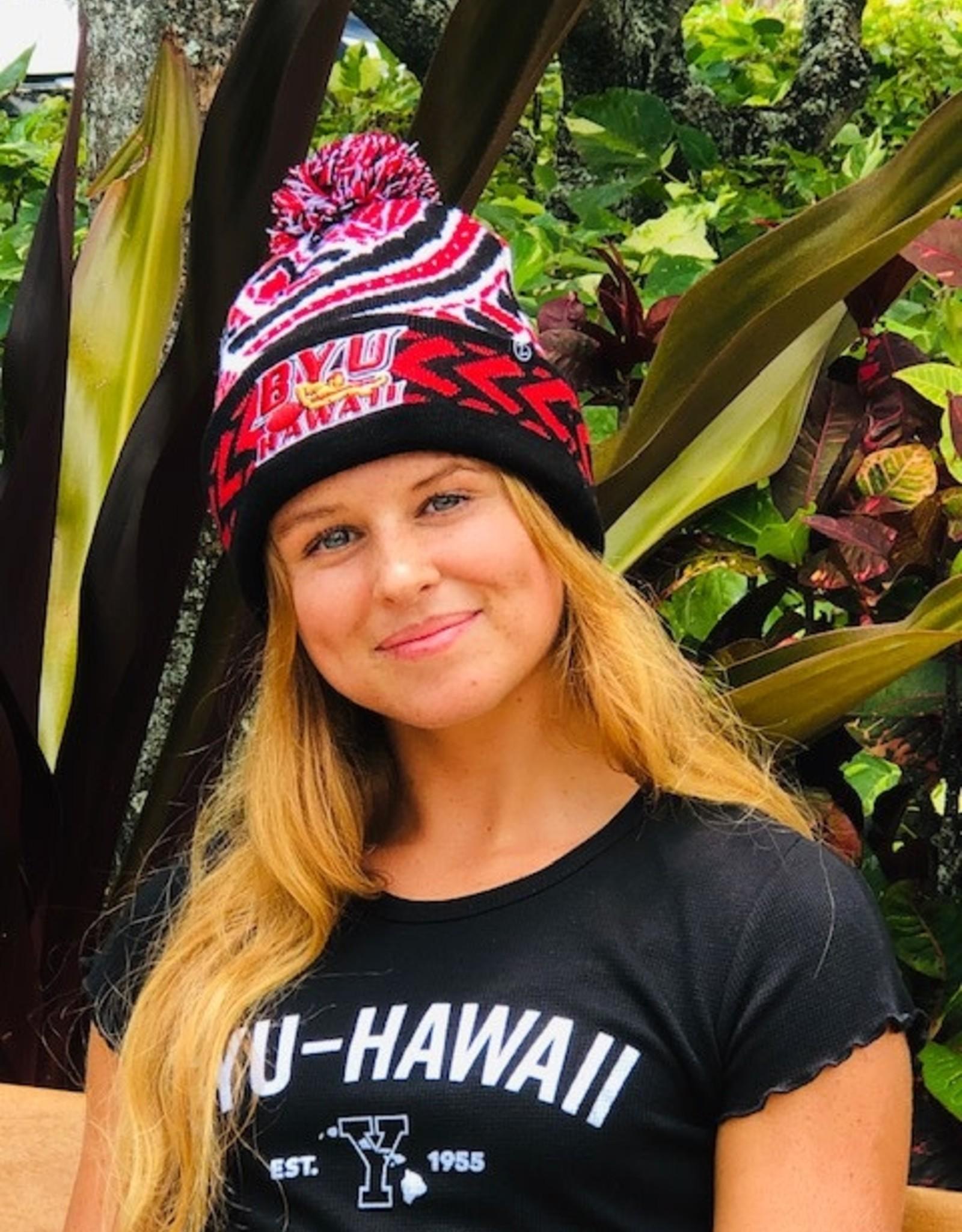 ZEPHYR Zephyr BYU-Hawaii Kulua Seasiders Red Beanie