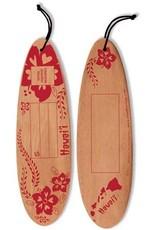 DISC WOODEN POSTCARD SURFBOARD
