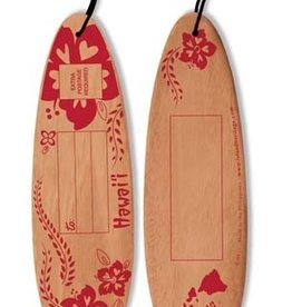 DISC WOODEN POSTCARD SURFBOARD