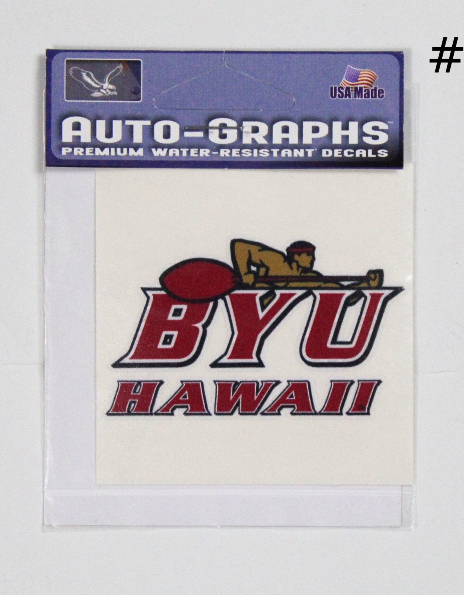 BYU-H Decals Decal Mini - BYUH