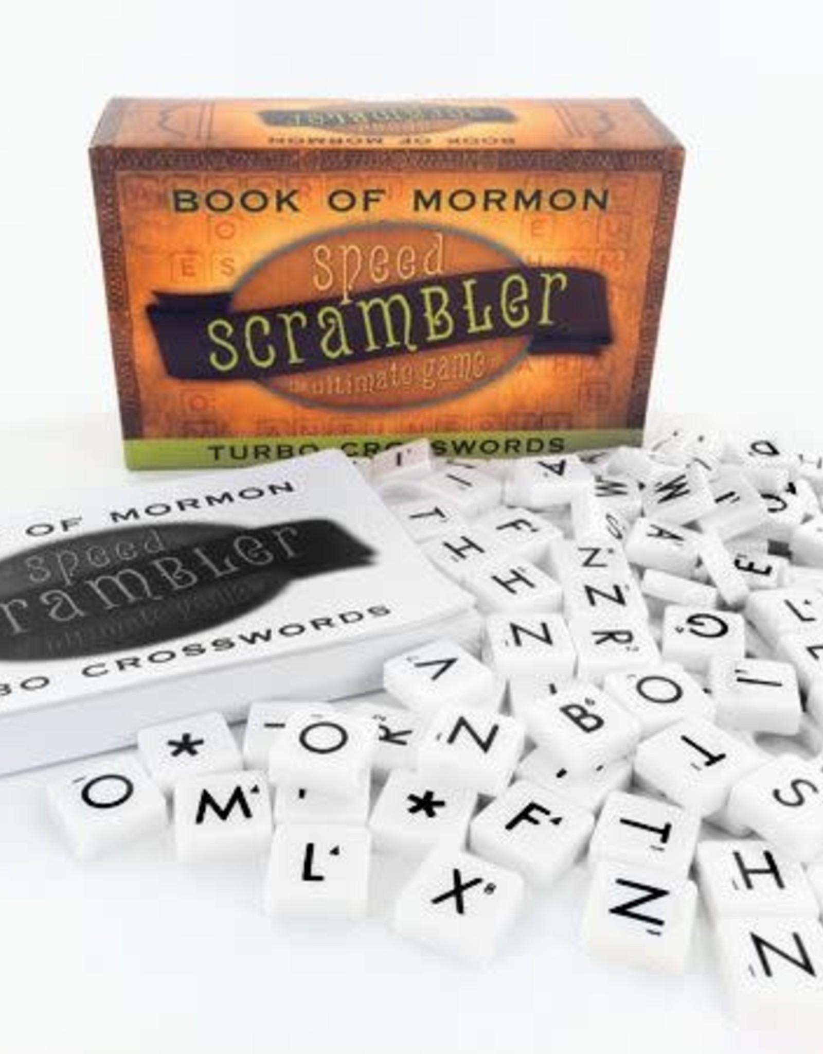 BOOK OF MORMON SPEED SCRAMBLER GAME