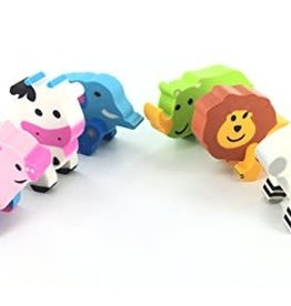 NOAH'S ANIMALS ERASERS