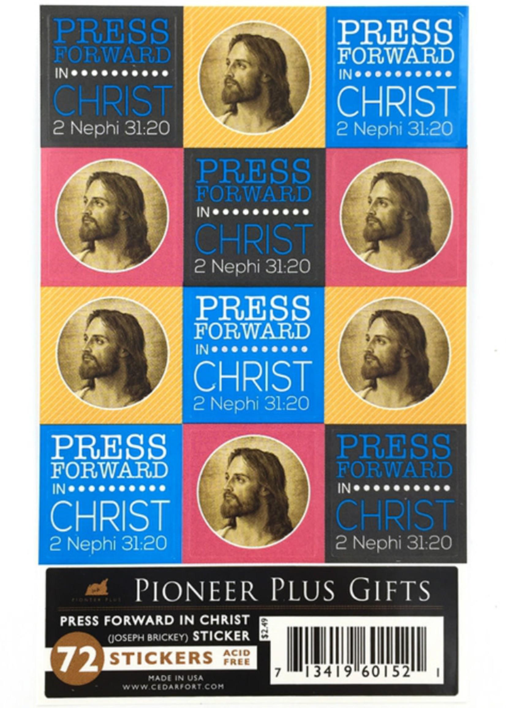 Press Forward Stickers
