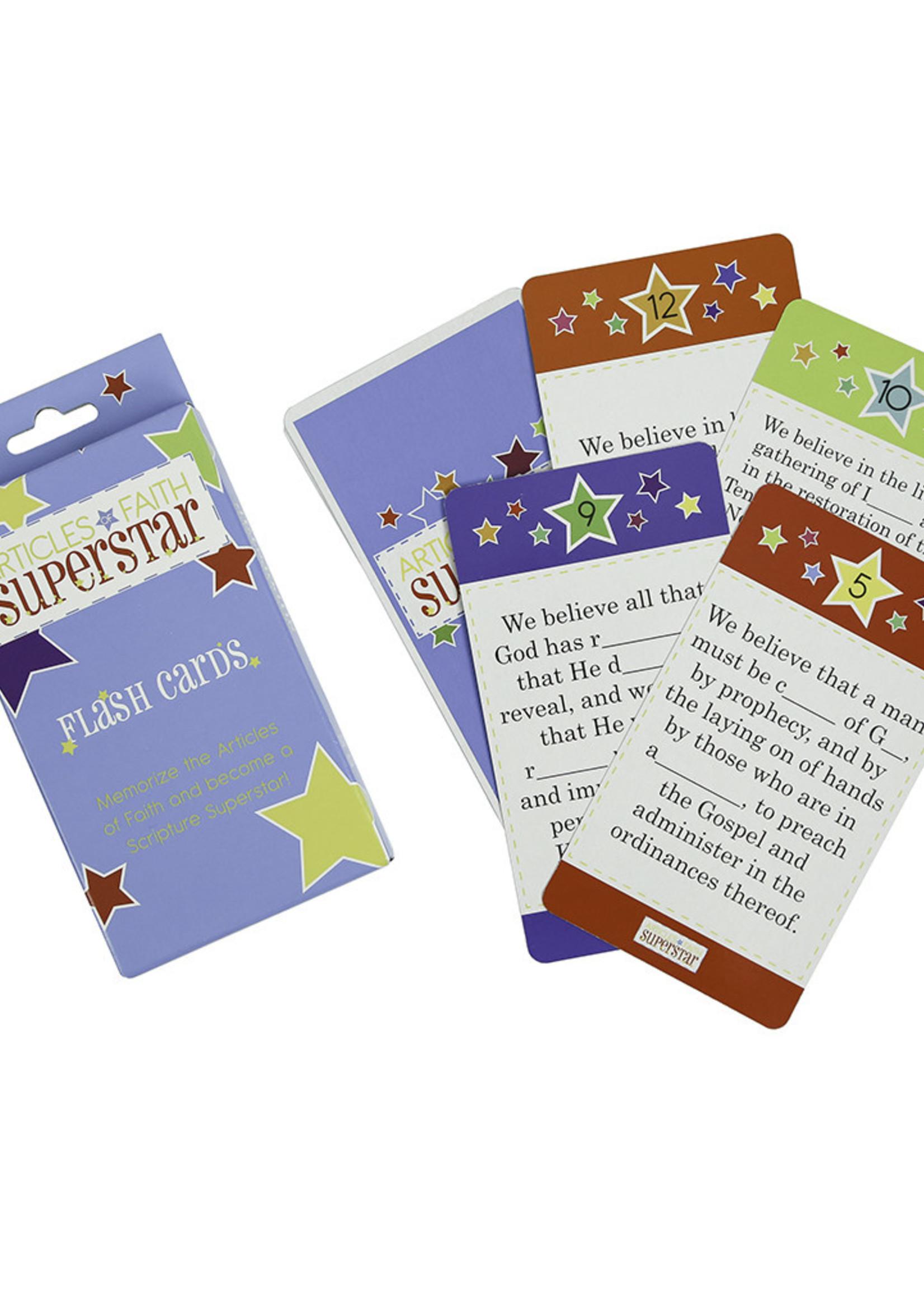 ARTICLES OF FAITH SUPERSTAR FLASH CARDS