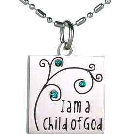I am a Child of God Necklace -