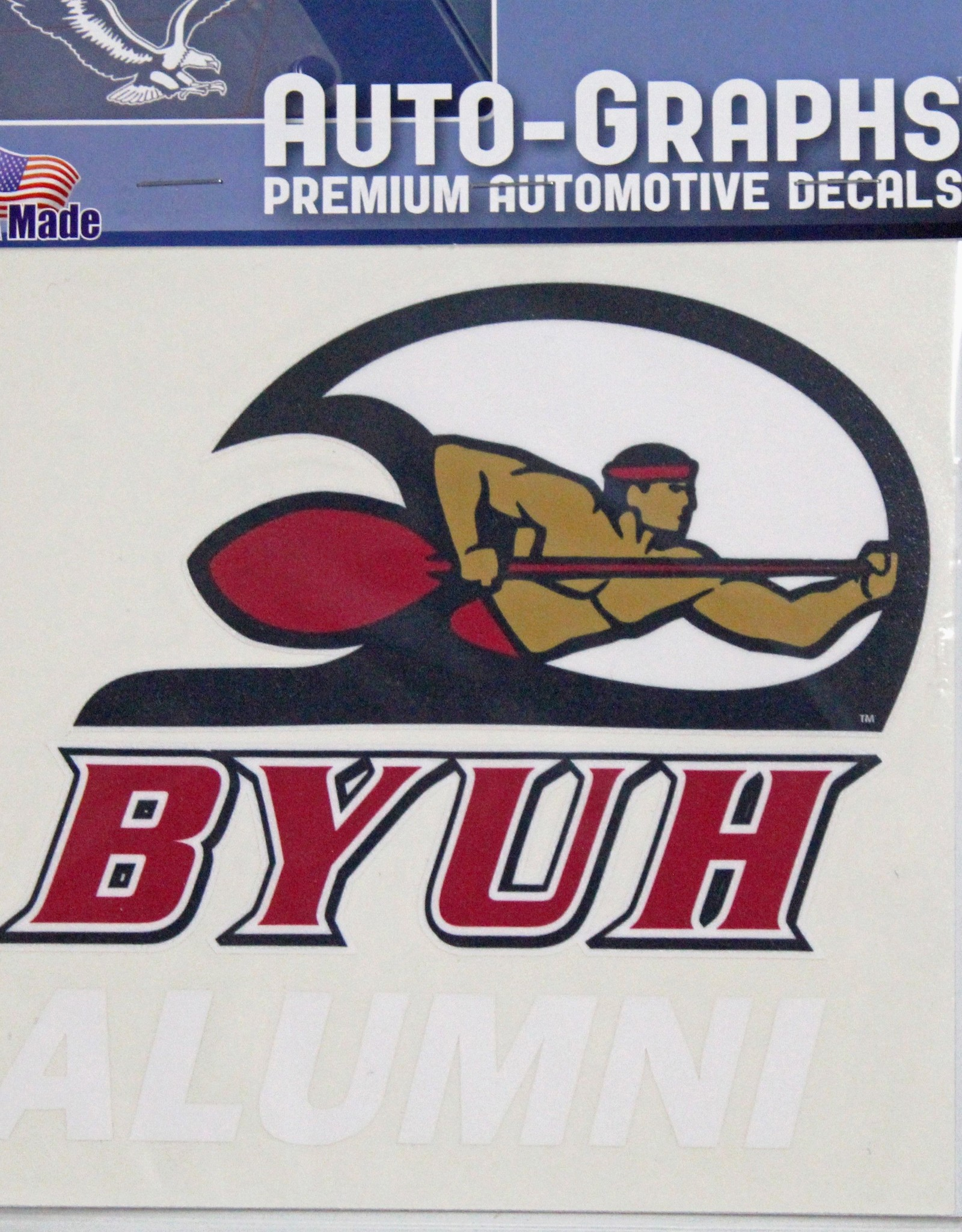 BYU-H Decals DECAL LARGE BYUH -