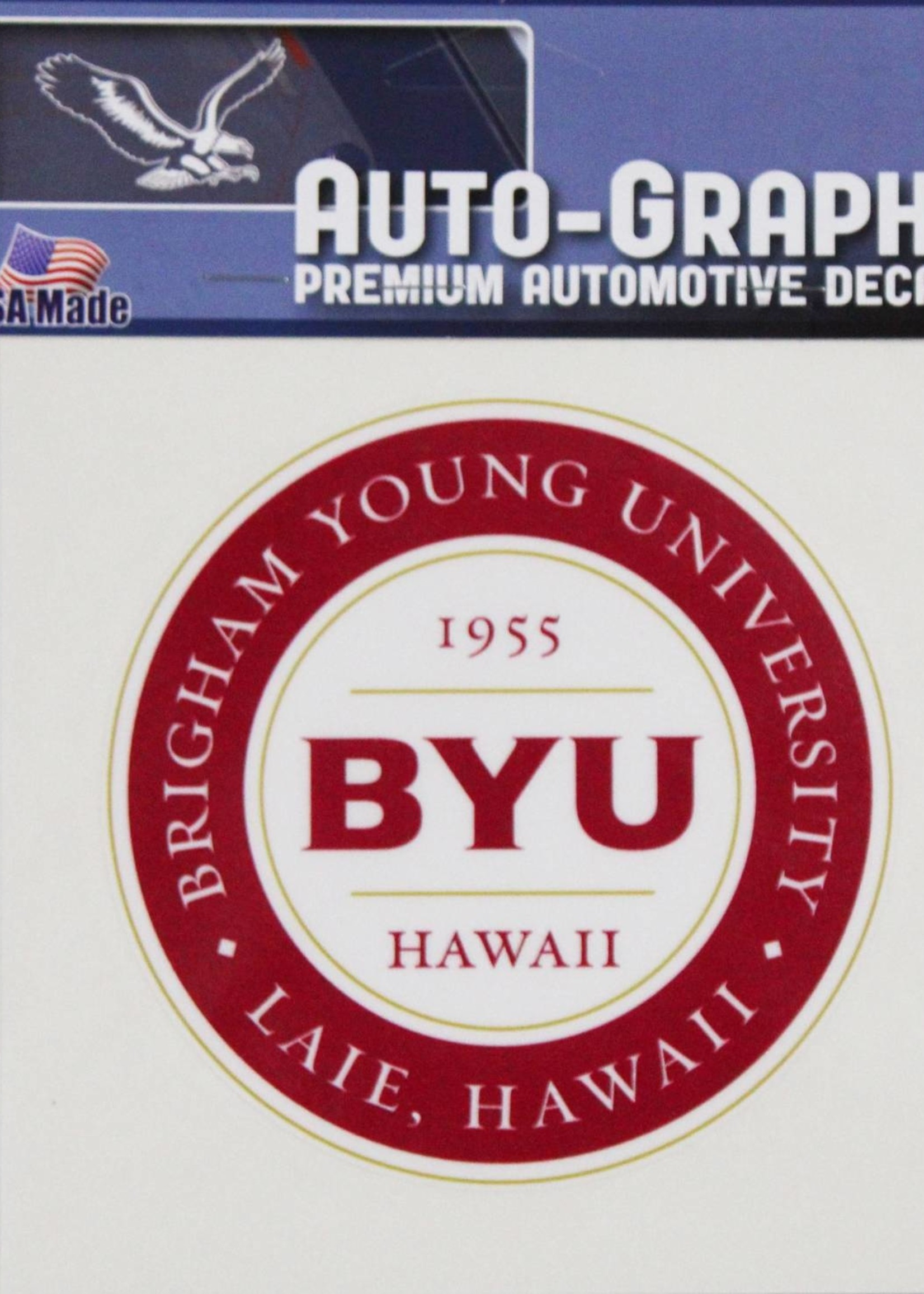 DECAL LARGE BYUH -
