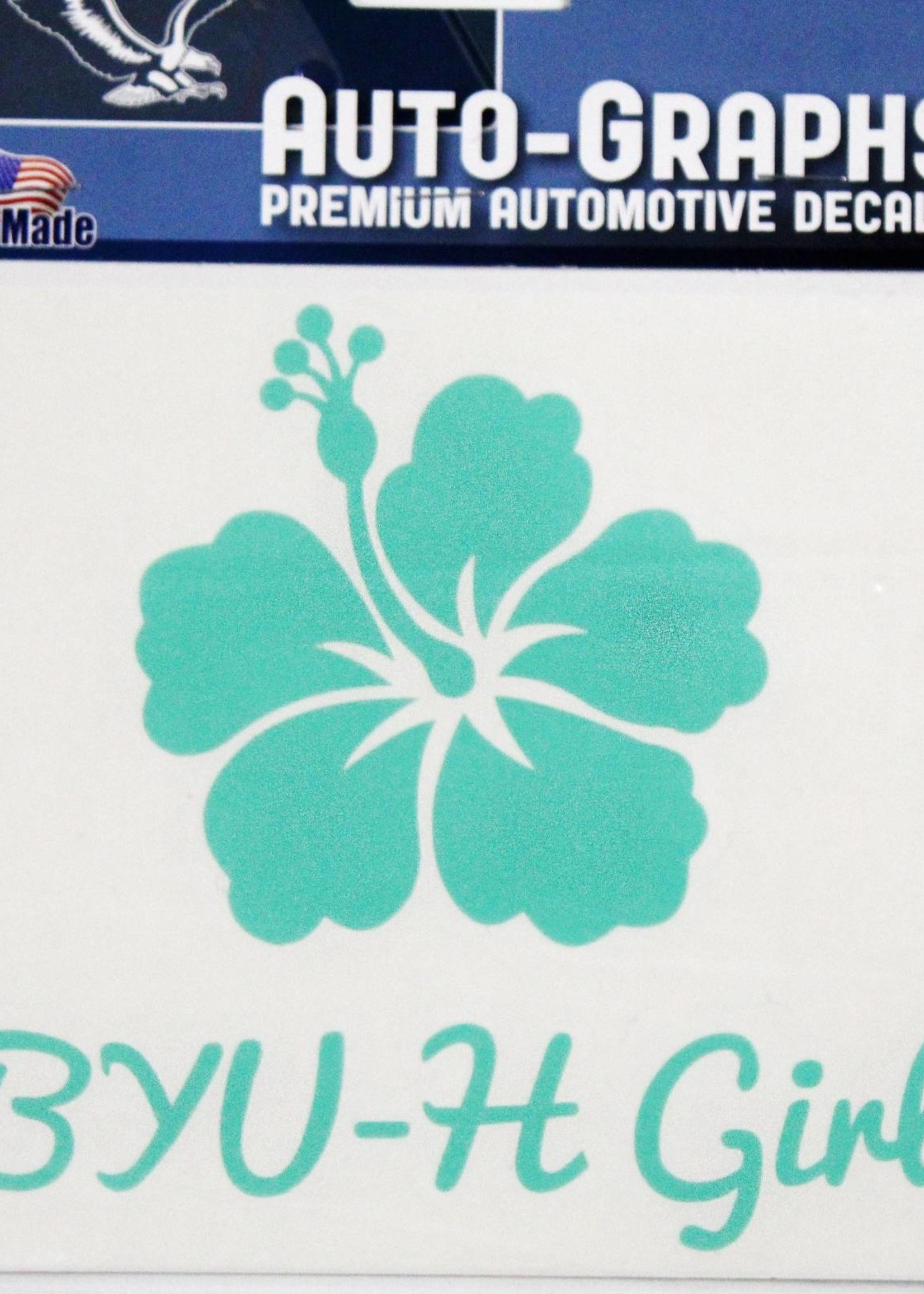 Decals BYUH Large -