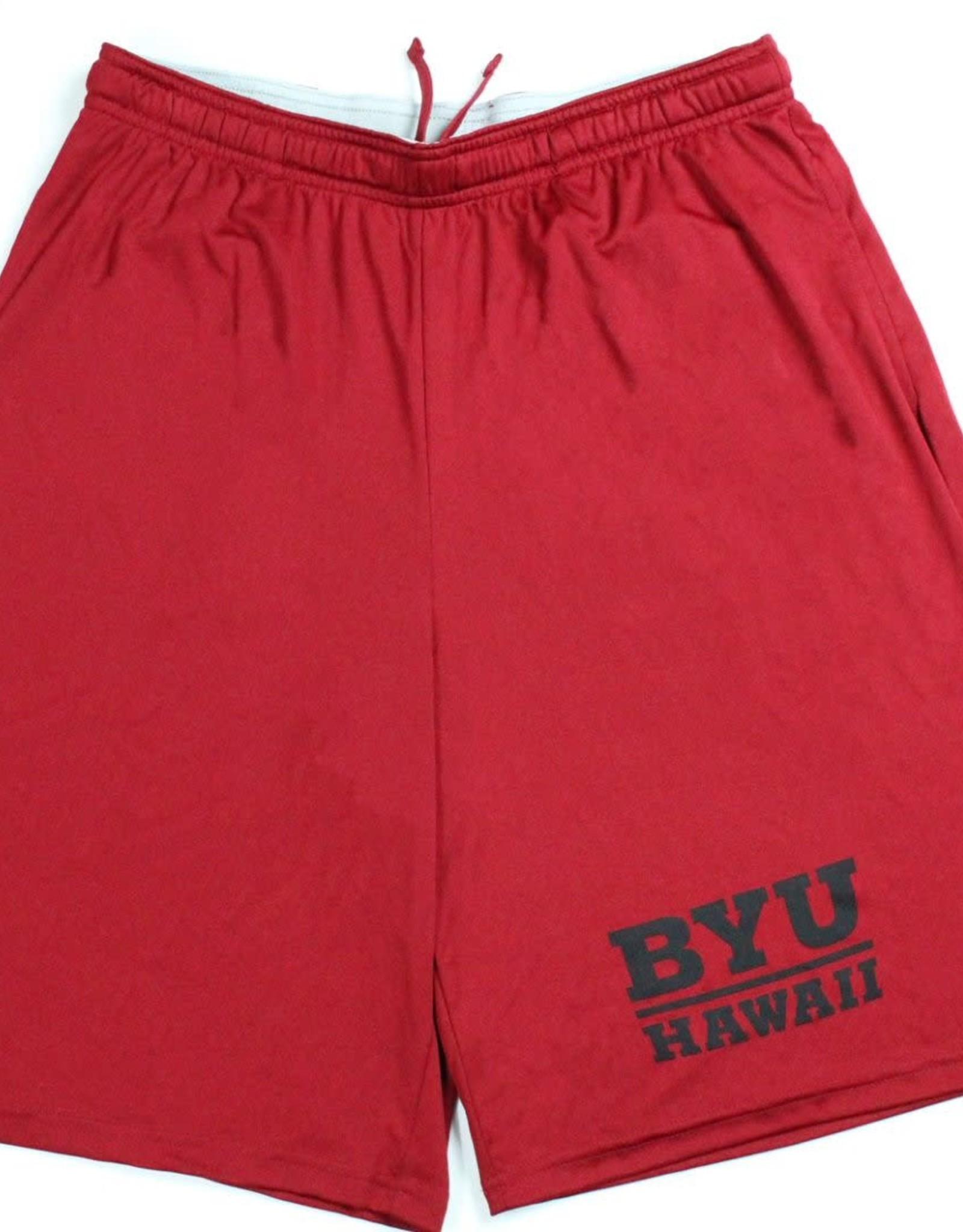 BYUH Essential PCKT Shorts