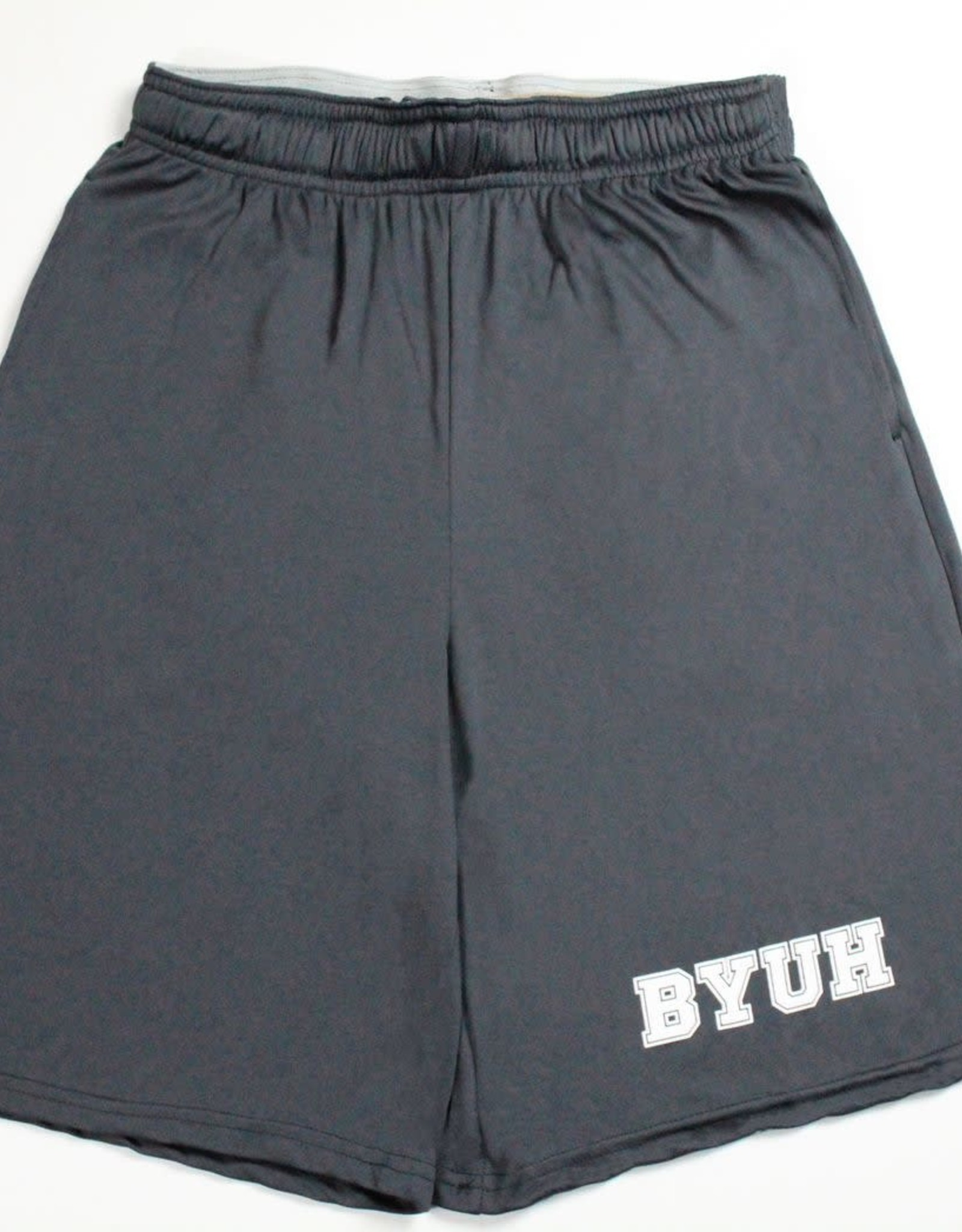 Clearance - BYUH Stealth Grey Shorts
