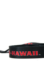 BYUH SUBLIMATED RIBBON LANYARD black