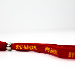 Shoelace Wristlet Keystrap Red Lanyard