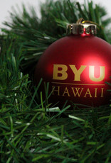 BYUH SHATTERPROOF ORNAMENT - RED